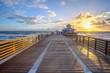 Juno Beach Florida Sunrise at Pier