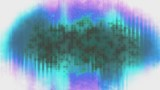 Animated backdrop new retro style looping multi color abstract