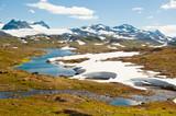Norway mountain landscape