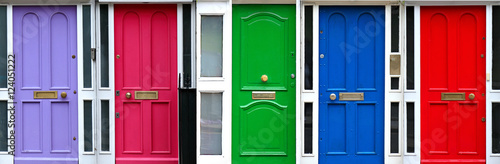 Poster Dublin Doors