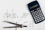 Trigonometry - maths background  - 124059635