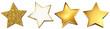 Sterne Set - Gold