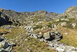 Trail to climbing Malyovitsa peak, Rila Mountain, Bulgaria