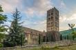 Abbey Saint Michel de Cuxa near village Codalet - France