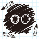 doodle eye glasses