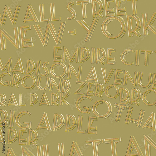 Golden Titles about New-York : The Big Apple