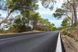 Landstraße auf Ibiza bei Carla de Hort