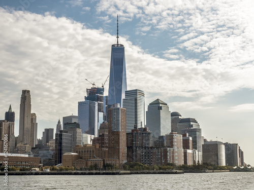 View of New York City from New Jersey