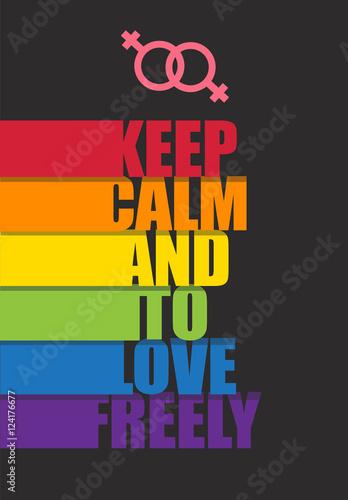 keep calm Plakát