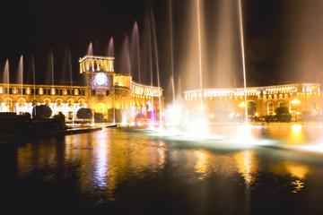 night fountains