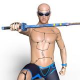 サイボーグ剣士