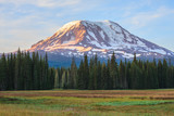 Beautiful Colorful Image of Mount Adams - 124195605