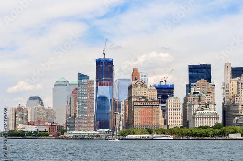 Lower Manhattan View Poster