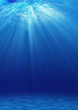 underwater background, over light  - 124201448