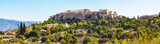 Day Athens panoramic skyline with Acropolis view against blue sky, Greece - 124219288