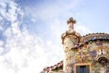 Casa Batllo by Antoni Gaudi in Barcelona, Spain