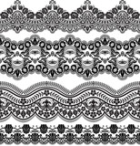 Damask vector floral pattern with arabesque and oriental elements. Abstract traditional ornament for backgrounds.