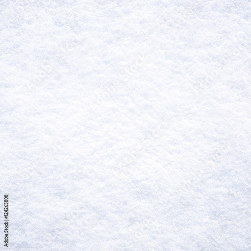 Plakat Fresh white snow background