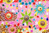 Colorful ceramic mosaic tile - 124266211