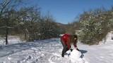 Girl Sculpt Snowman