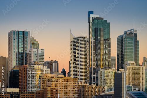 Poster Sydney Cityscape