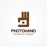 photography icon and silhouette of a man. Missing image sign or uploading pictures. Vector.
