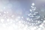 シルバー クリスマス 背景