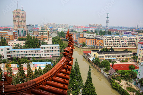 Foto op Aluminium Beijing parc de Chuansha