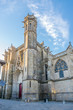 Basilica of Saint Nazaire in Old City of Carcassonne - France