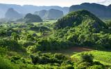 Fototapety landscape of valley of Vinales,Cuba