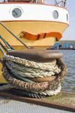 Ship mooring at port