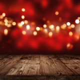 Red Background with golden lights_001 - 124358012