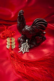 The chinese new year in 2017 brings the year of the rooster of the chinese horoscope, the endless knot coin hanger is supposed to bring prosperity and abundance to the owner