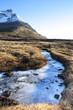 Frozen Creek in Fall