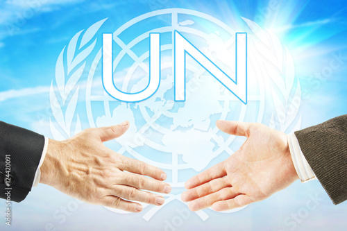 Poster Concept of United Nations organization