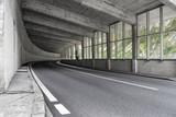 Tunnel am Simplon Pass Schweiz