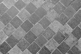 Horizontal Texture of The Gray Slate Footpath