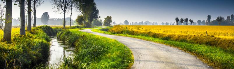 paesaggio rurale in campagna