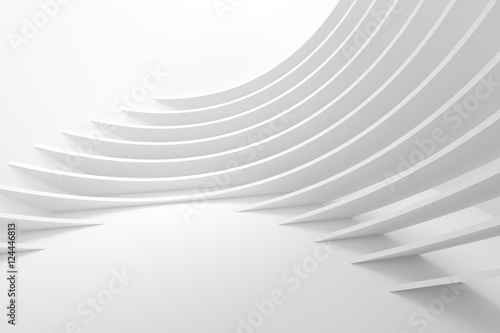 Fotobehang Abstract wave Abstract Architecture Background