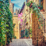 Alley in Italian old town Italy