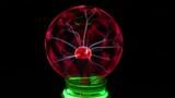 plasma lamp in the dark