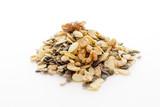 pumpkin sunflower seeds cashews - 124474462