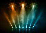 Scène et projecteurs vectoriels 2 - 124493602