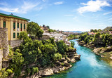 Mostar old town view, Bosnia and Herzegovina