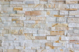 Pattern of grey and rough sandstone wall texture and background stone Cladding wall