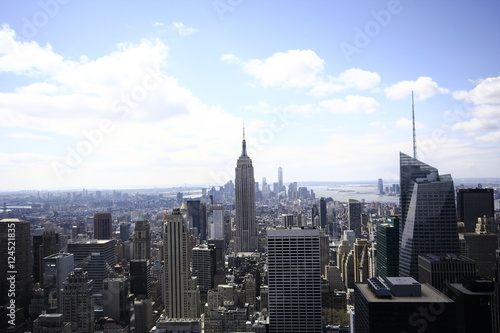 Foto op Aluminium New York New York Skyscraper Skyline