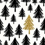 Seamless Christmas Pattern - 124522208