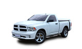 American Pickup. White background.