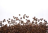 Coffee beans on white. - 124538899