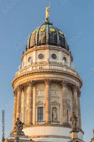 French Cathedral on Gendarmenmarkt, Berlin.